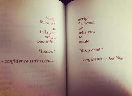confidence poem