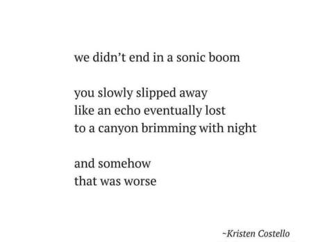 we didnt end in a sonic boom poem