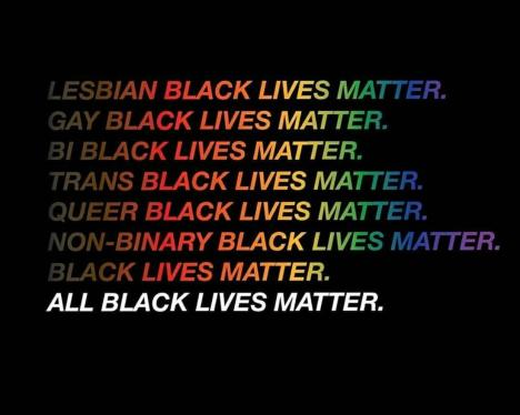 black lgbtq lives matter