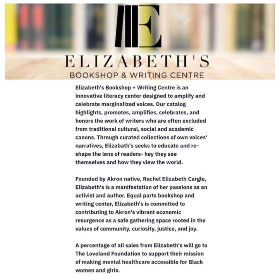 elizabeths writing centre